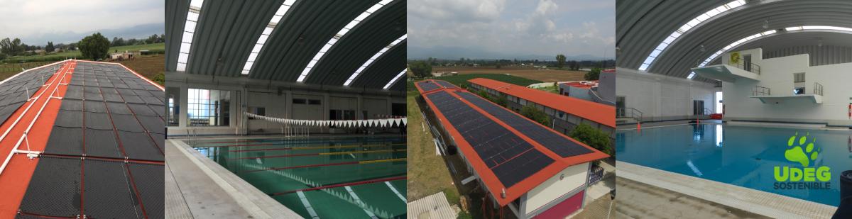 Sistema de calentamiento solar térmico para el Centro Acuático de Rehabilitación y Salvamento en el Centro Universitario del Sur