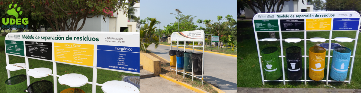 Contenedores para separación de residuos